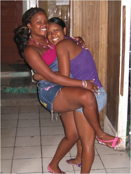 Teen girls Belize