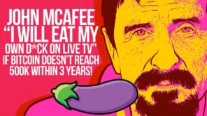 mcafee eating dick