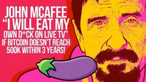 mcafee eating dick